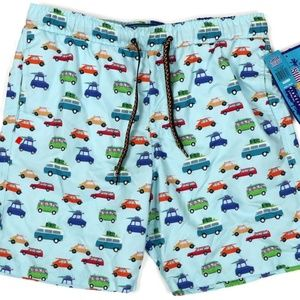 Surf Society Swim Trunks Lined UV Protection Men M